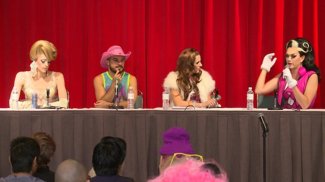 """Brand Me!"" featuring Manila Luzon, Laganja Estranja, AB Soto and Jackie Huba at DragCon 2016"