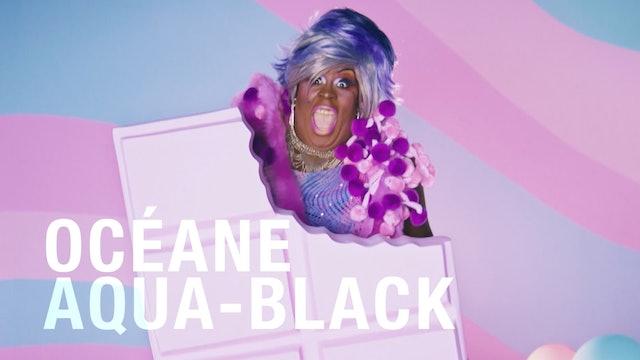 Océane Aqua-Black