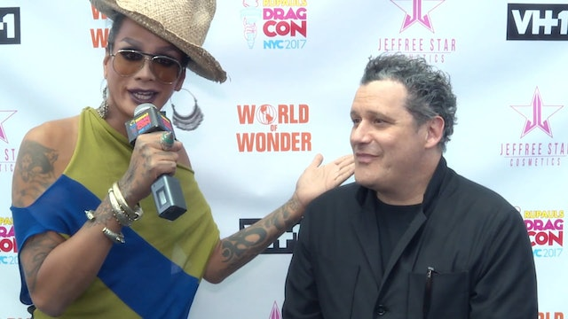 Raja and Isaac Mizrahi: RuPaul's DragCon NYC 2017