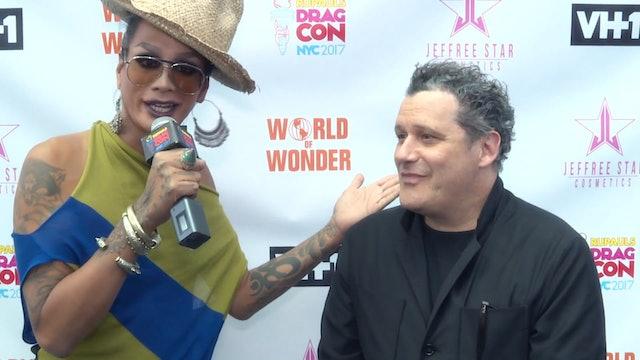 Raja and Isaac Mizrahi: RuPaul's DragCon NYC 2017