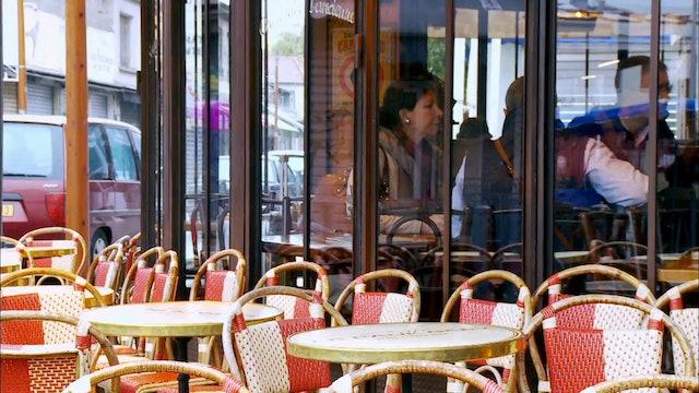 France: Man Shops Globe 101