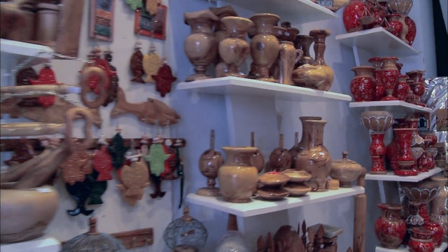 Tunisia: Man Shops Globe 107