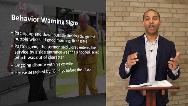 Suspicious Behavior in Places of Worship