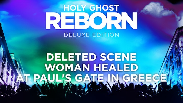Woman Healed At Paul's Gate in Greece