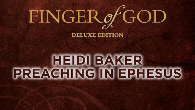 Heidi Baker Preaching in Ephesus