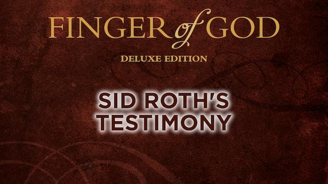 Sid Roth's Testimony