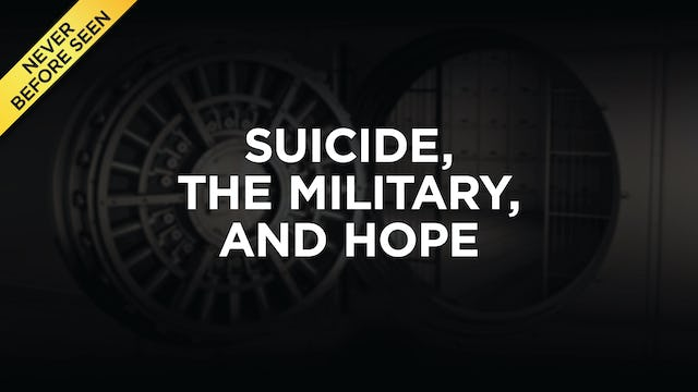 Suicide, The Military, And Hope
