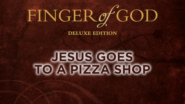 Jesus Goes to a Pizza Shop
