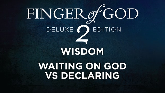 Waiting On God Vs Declaring