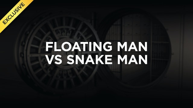 Floating Man vs Snake Man