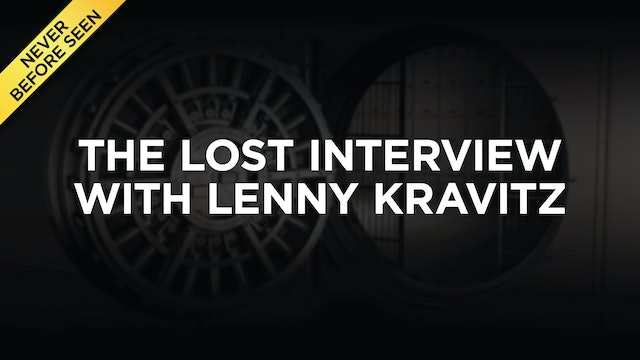 The Lost Lenny Kravitz Interview (NEW!)