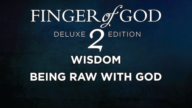 Being Raw With God