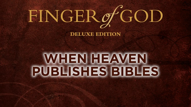 When Heaven Publishes Bibles