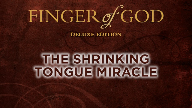 The Shrinking Tongue Miracle