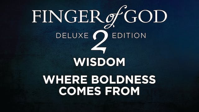 Where Boldness Comes From