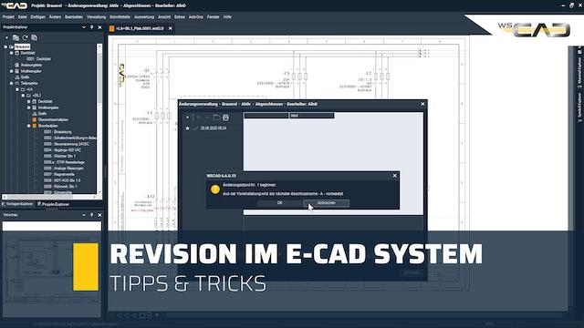 Revision im E-CAD System
