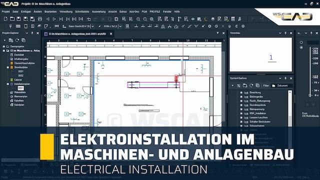 Elektroinstallation im Maschinen-und Anlagenbau