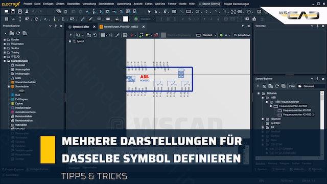 Mehrere Darstellungen für dasselbe Symbol definieren