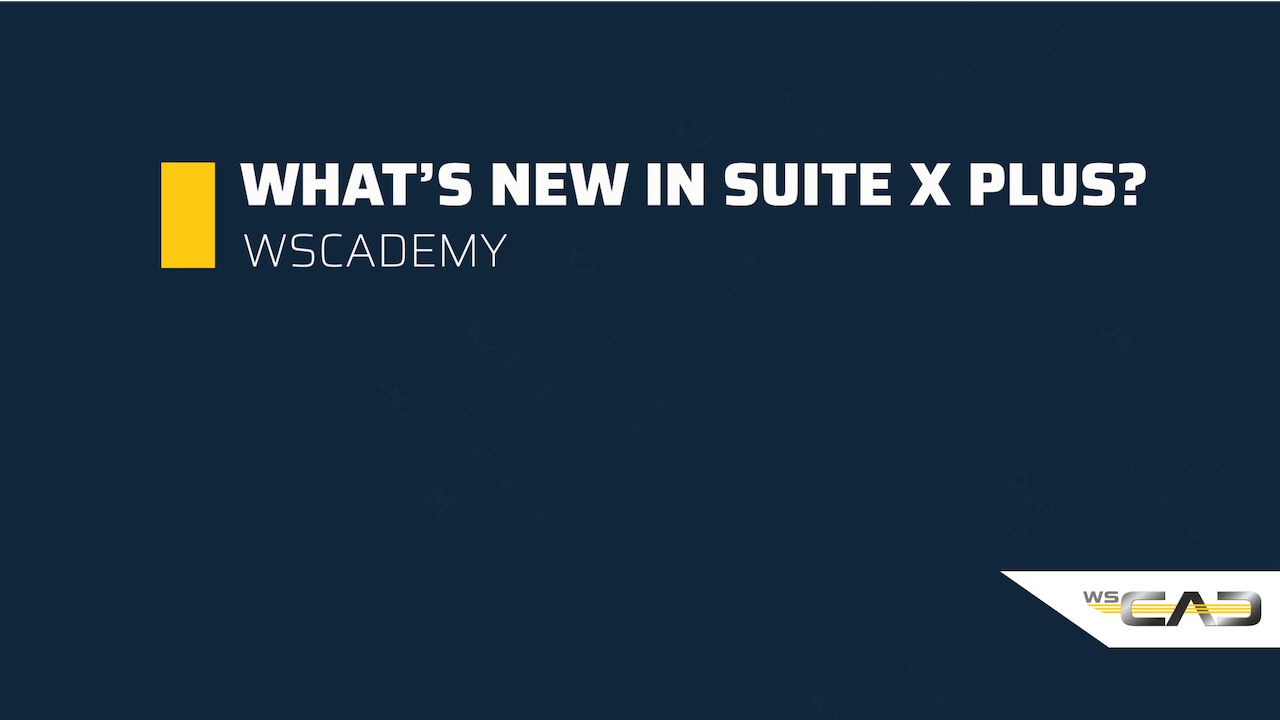 What's new in SUITE X PLUS?