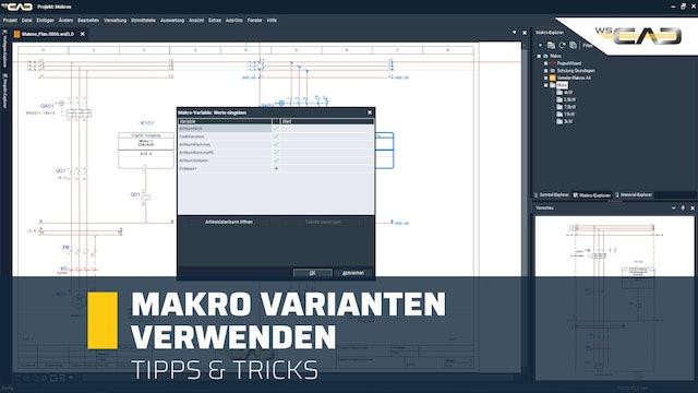 Makro Varianten erstellen