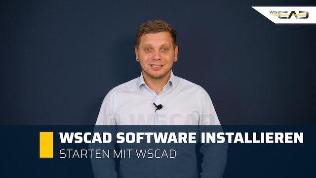 WSCAD Software installieren