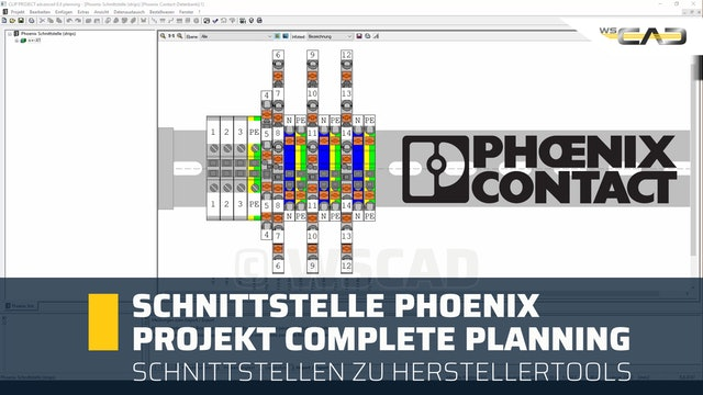 Schnittstelle PHOENIX Project Complete Planning