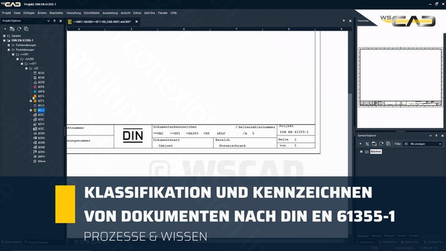 Klassifikation und Kennzeichnen von Dokumenten nach DIN EN 61355-1