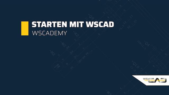 Starten mit WSCAD