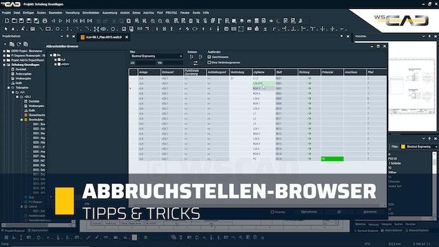 Abbruchstellen-Browser