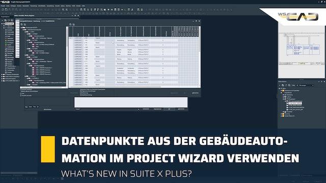 Service Pack 1 Teil 3: Datenpunkte im Project Wizard verwenden