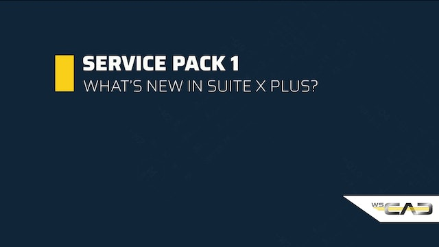 SUITE X PLUS Service Pack 1 (EN)