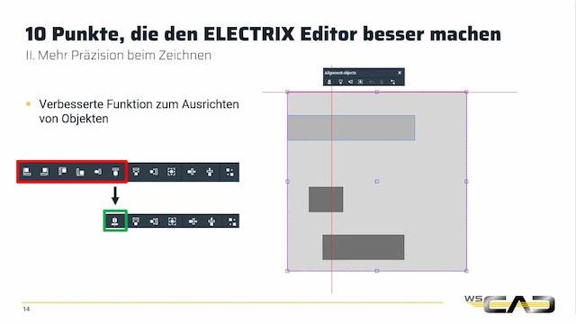 10 Punkte, die den ELECTRIX Editor besser machen