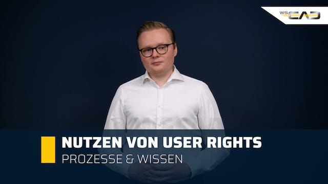 Nutzen von User Rights