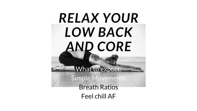Chill AF Back and Core