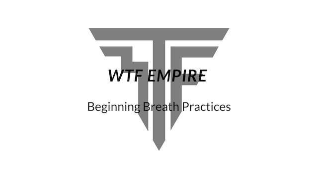 Beginning Breath Practices