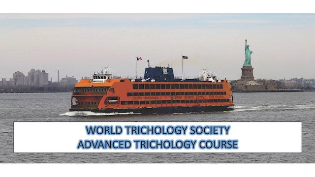 Advanced Trichology Course Part III