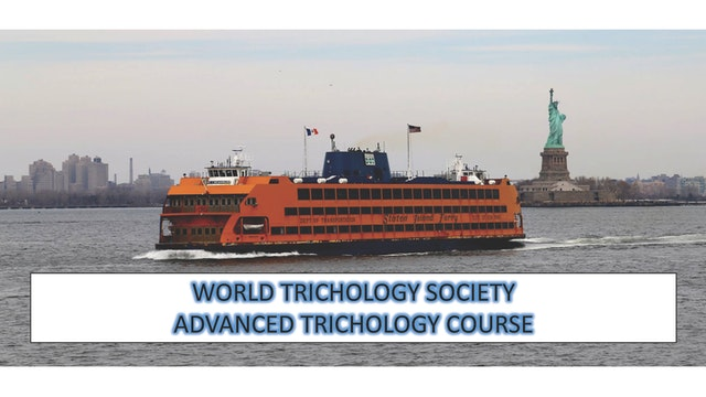 Advanced Trichology Course Part I