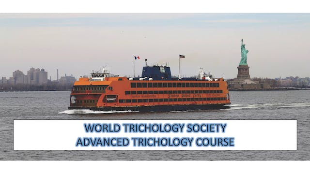 Advanced Trichology Course Part IV