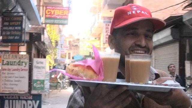 Tea in Thamel Short