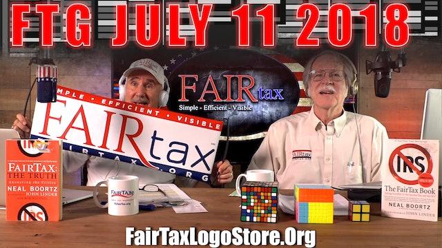 The Fair Tax Guys Wednesday July 11, 2018