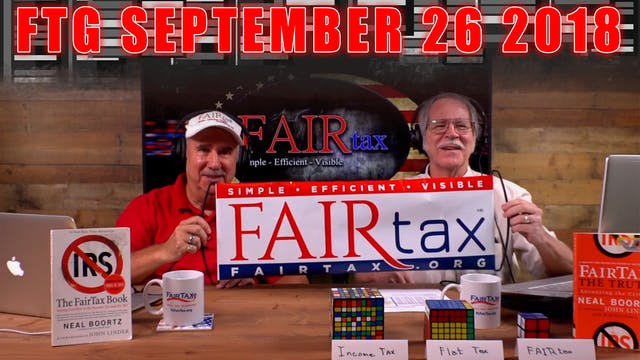 The Fair Tax Guys Wednesday September...