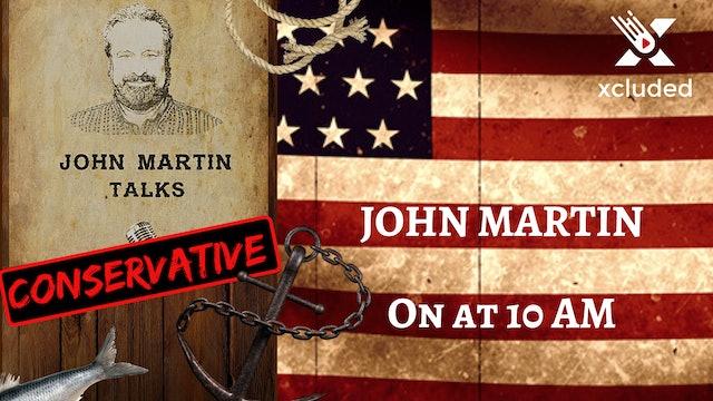 John Martin Talks Wednesday January 13, 2019
