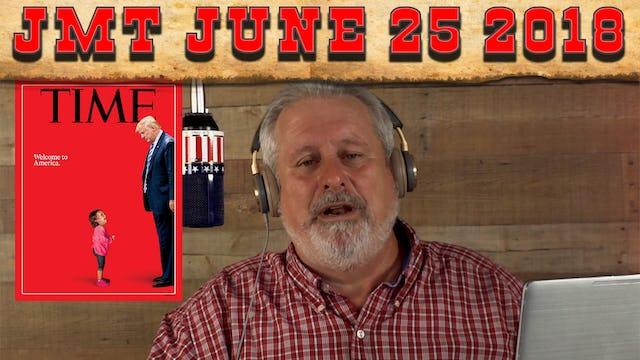 John Martin Talks Monday June 25, 2018