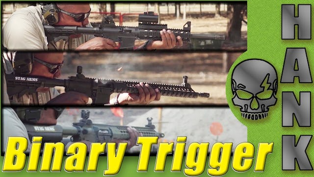 BFS III Binary Trigger in 3 Different Rifles