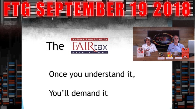 The Fair Tax Guys Wednesday September...
