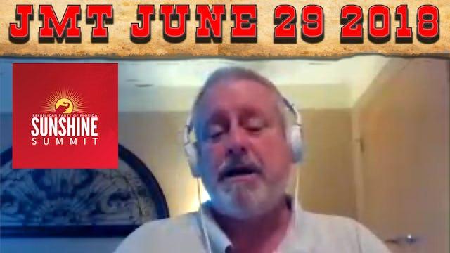 John Martin Talks Friday June 29, 2018