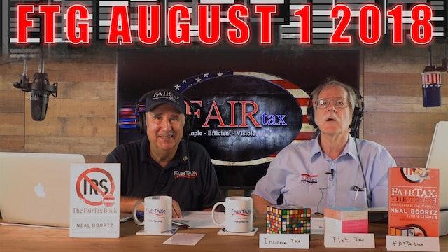 The Fair Tax Guys Wednesday August 1, 2018
