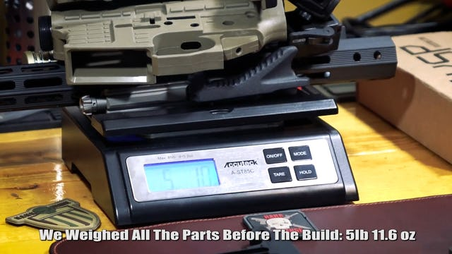 Lola's Lightweight Polymer Rifle Build Kaiser US X-7
