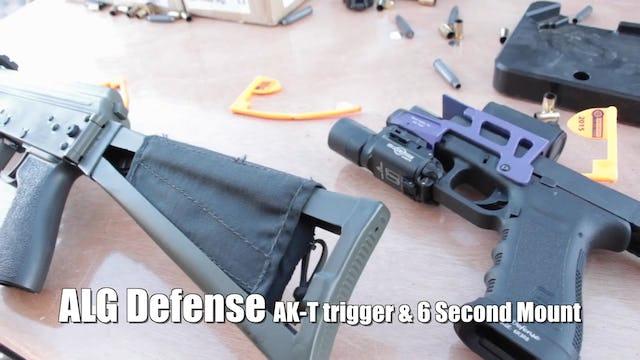ALG Defense AK-T 6 Second Mount SHOT Show 2015