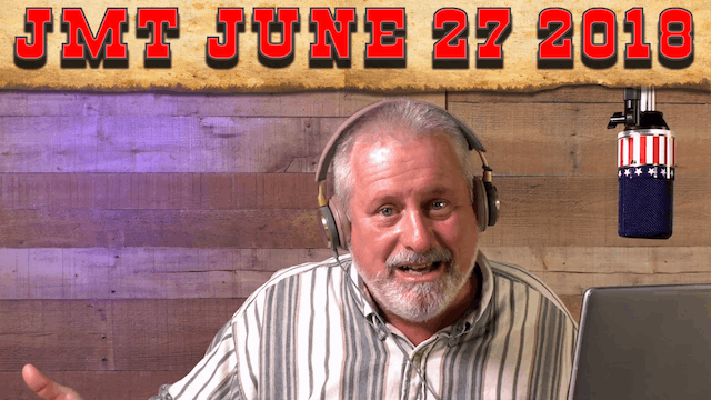 John Martin Talks Wednesday June 27, 2018